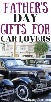 Fathers Day Gifts For Car Lovers