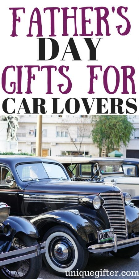 Father's Day Gifts for Car Lovers
