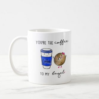 If they like coffee and bagels, this 6 Month Anniversary Gift Ideas is for them.