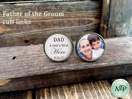 This Father of the Groom Gifts is a great keepsake.