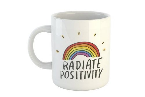 This Gifts for Positive Thinking is an excellent one to keep coffee or tea in.