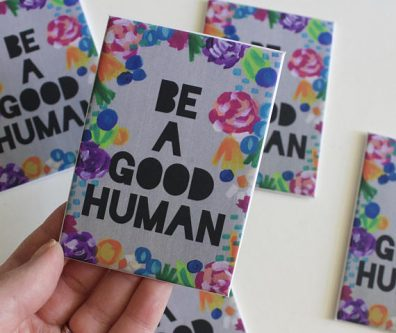They'll smile every time they see this Gifts for Positive Thinking on the fridge.