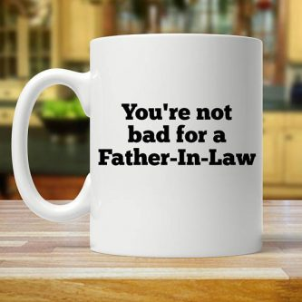 If you get along great with your father in law, this would be a cute Father of the Groom Gifts.