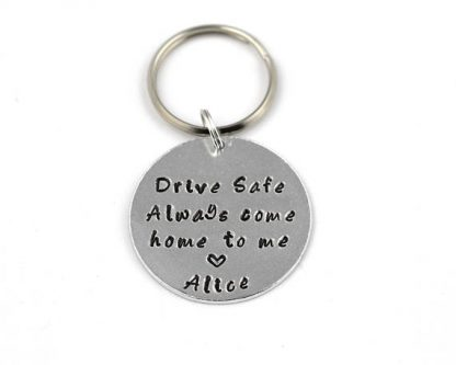 Welcome Home Gifts for Husband include a piece of you everywhere he goes.