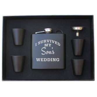 If he's the life of the party, this Father of the Groom Gifts would be a good one.