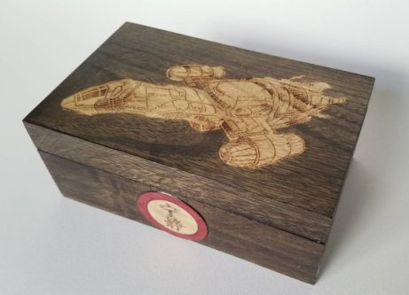 This Christmas Gifts for Firefly (Serenity) Fans would be a good one to keep mementos in.