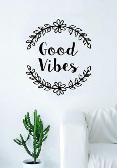 This Gifts for Positive Thinking would look cute on any wall.
