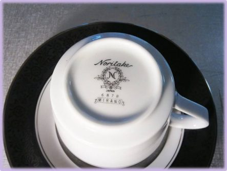 20th Platinum Modern Anniversary Gifts for Her include nice pieces of china, like this.