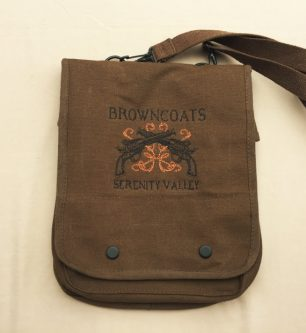 Christmas Gifts for Firefly (Serenity) Fans include this one because who doesn't need a bag.
