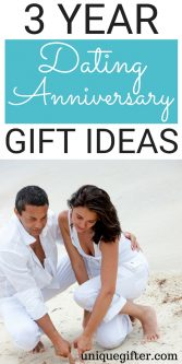 3 Year Dating Anniversary Gift Ideas