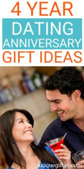4 Year Dating Anniversary Gift Ideas