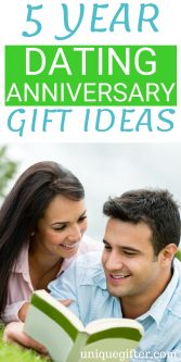 5 Year Dating Anniversary Gift Ideas