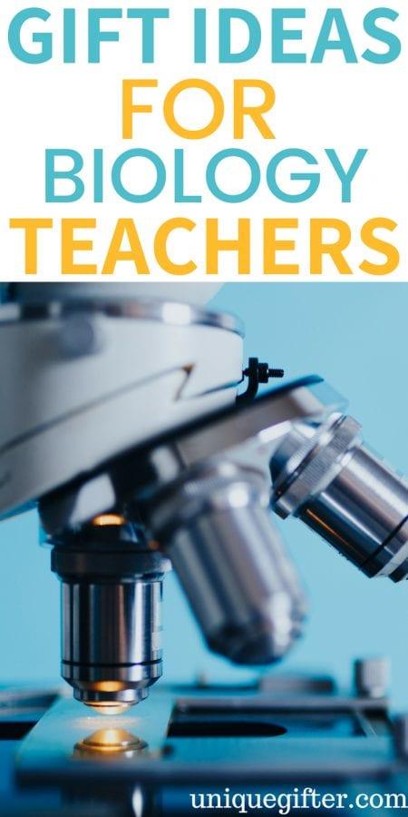 Gift Ideas for Biology Teachers