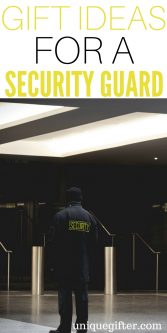 Gift Ideas for A Security Guard   Thank you gifts for A Security Guard   What to buy a person who is A Security Guard   Appreciation Gifts for A Security Guard   What to get A Security Guard for their birthday   Creative gifts for A Security Guard   Security Guard gift ideas   #gifts # SecurityGuard #present