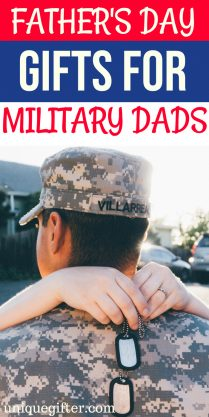 Father's Day Gifts for Military Dads | What to buy a Military Dad | Creative gifts for a Military Dad | What to buy a dad who is in the military | Gift Ideas for military dads this Father's Day | Presents for Father's Day this year | #militarydads #FathersDay #gifts