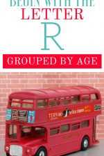 Toys that Begin with the Letter R Grouped By Ages