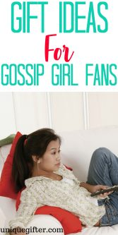 Gossip Girl Gift Ideas