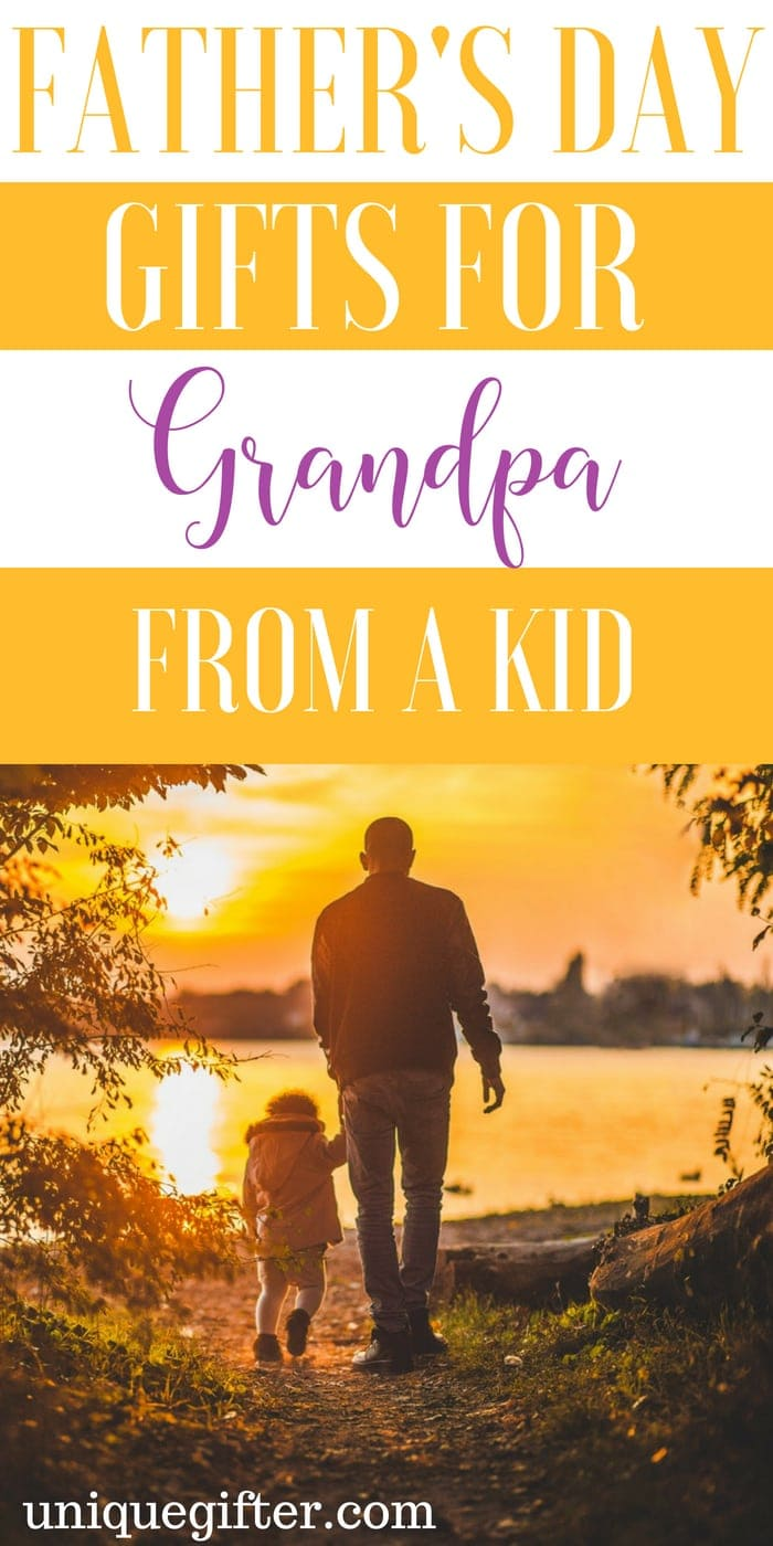 to buy a grandpa who has everything for Father's Day   Gift Ideas for a grandpa this Father's Day   Presents for Father's Day this year   #grandpa #FathersDay #gifts