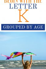 Toys that Begin with the Letter K Grouped By Age