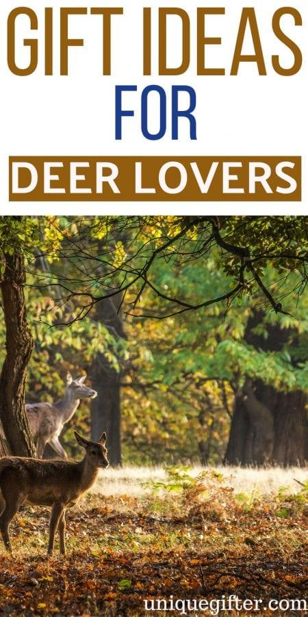 20 Gift Ideas for Deer Lovers