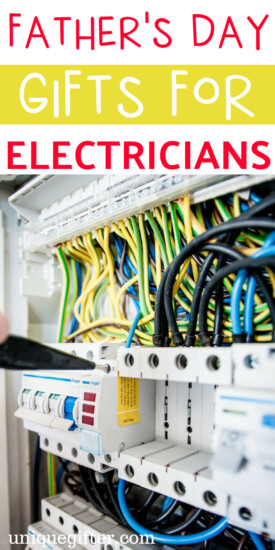 Father's Day Gifts for an Electrician  What to buy an Electrician for Father's Day   Creative gifts for an Electrician on Father's Day   What to buy an Electrician who has everything for Father's Day   Gift Ideas for an Electrician this Father's Day   Presents for Father's Day this year   #electrician #FathersDay #gifts