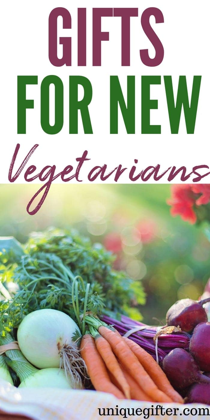 What to buy for a new vegetarian   Newly Vegetarian Gift Ideas   Presents for a Vegetarian   New Vegetarian Gifts   Unique Vegetarian Inspired Gifts   Clever gifts for a Vegetarian   #vegetarian #giftideas #presents