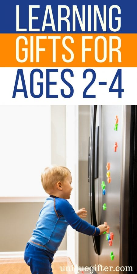 Learning Gifts for Ages 2-4