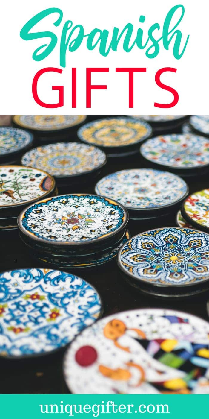 What to Buy For Someone Who Loves Spanish Culture | Spanish-Inspired Gifts | Spanish Gifts | Unique Spanish Culture Gifts | Fun Gifts For Someone Who Likes Spanish | Presents to Celebrate Spanish | Spanish Thank You Gifts For Friends | #spanish #giftideas #culture