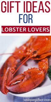 20 Gift Ideas for Lobster Lovers