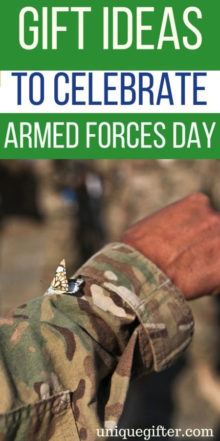 Gift Ideas to Celebrate Armed Forces Day