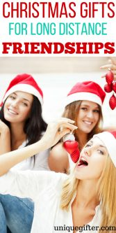 Christmas Gifts for Long Distance Friendships