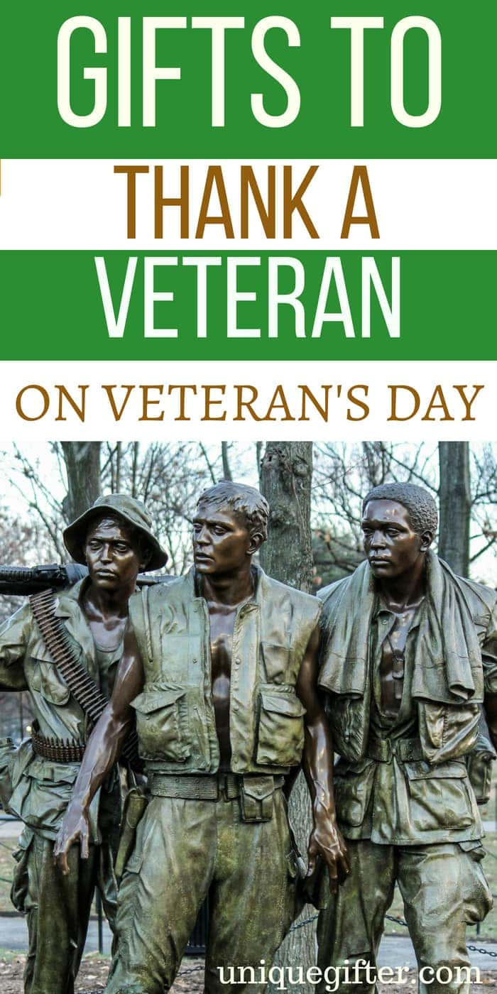 gifts to thank a veteran on veteran's day - unique gifter