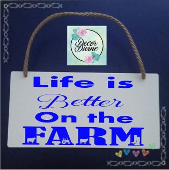 Life is better on their farm so this Gift Ideas for Farmers is perfect.