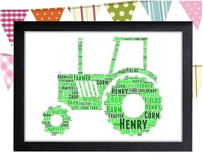Personalized art is perfect for Gift Ideas for Farmers.