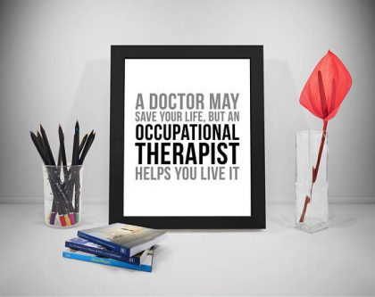 This Gift Ideas for Occupational Therapists reminds them that they do so much.