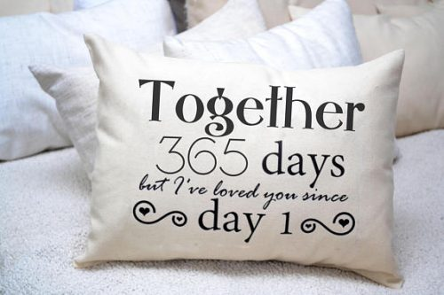 This 4 Year Dating Anniversary Gift Ideas is a nice touch to any bedroom.