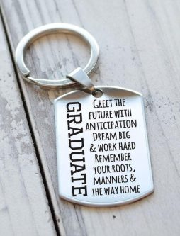 This 8th Grade Graduation Gifts for My Daughter would be cute for her house keys.