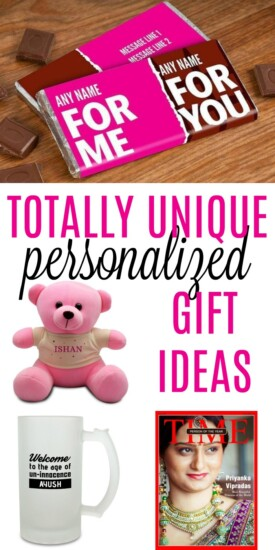 Personalised Gift Ideas | Creative and unique gifts | Gifts no one else will give | #birthday present ideas | #custom printed presents | #christmas gift ideas for adults and kids