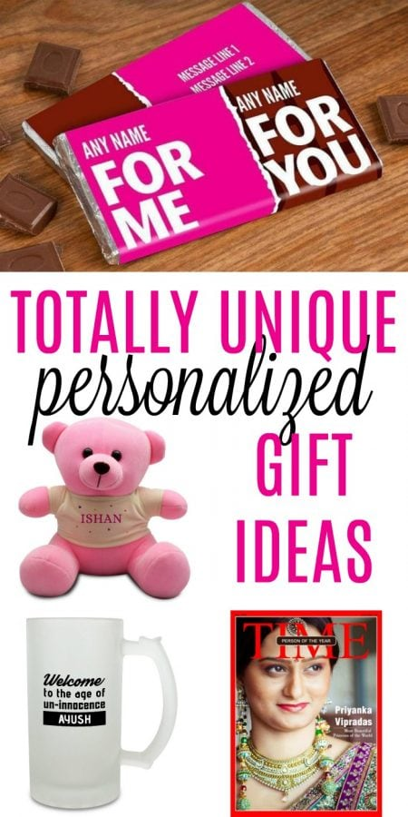 Creative Personalised Gifts To Make Recipients Feel Unique