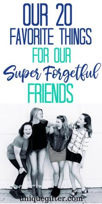 Our 20 Favorite Things for Our Super Forgetful Friends | What to buy for a forgetful friend | Gift ideas for friends who forget | Unique Gifts for That Forgetful Person | Special Gifts for Friends Who Forget A Lot | Forgetful Friends Present Ideas | #forgetful #friends #giftideas