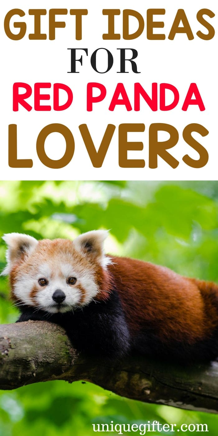 What to Buy Someone Who Loves Red Pandas | Red Panda Lovers | Creative Gifts For Red Panda Lovers | Special Presents for Someone Who Loves Red Pandas | Unique Gifts For Red Panda Lovers | #redpanda #animallover #gifts