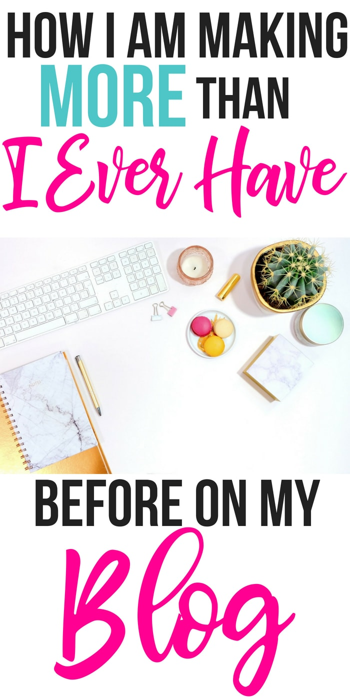 How I'm making more than I ever have before on my blog | how I started making big money with affiliates on my website | #blogging tips | how to earn an income online | real online jobs | how I pay for Christmas presents with my SAHM job | creative blog income #bloggingtips #girlboss #giftguide