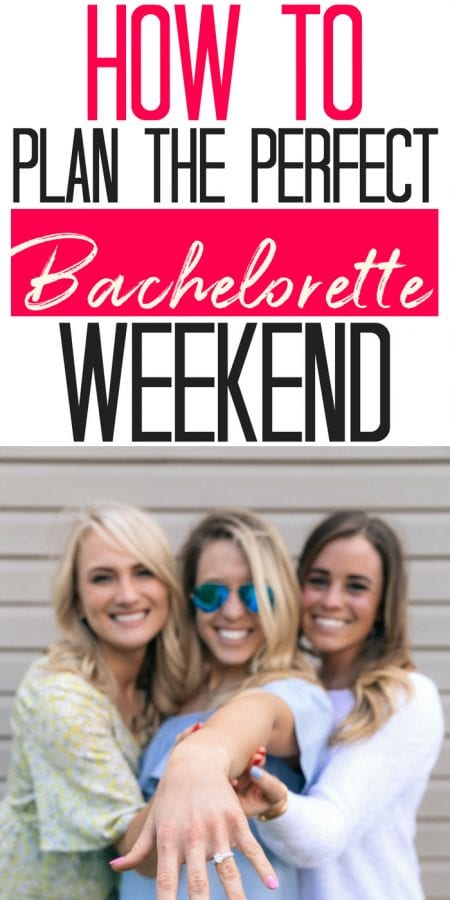 How to Plan the Perfect Bachelorette Weekend