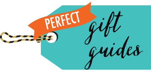 Perfect gift guides transparent logo