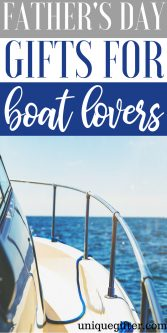 Father's Day Gifts for Boat Lovers