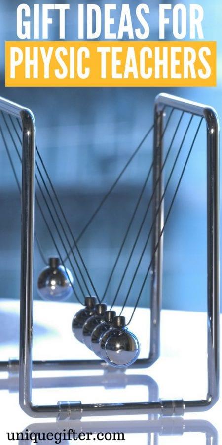 20 Gift Ideas for Physics Teachers
