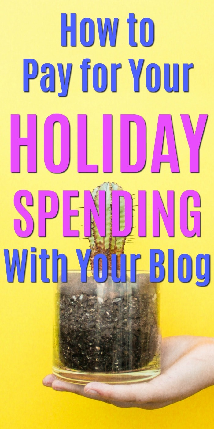 How to pay for your holiday spending with your blog | Blogging tips for money making | How to earn affiliate income with a blog | #money #frugal #christmas #bloggingtips