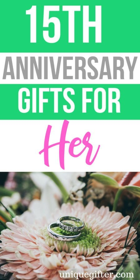 20 15th Anniversary Gifts for Her