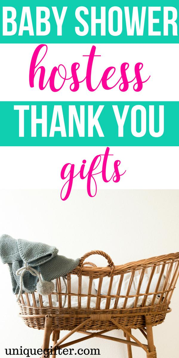 Baby Shower Hostess Thank You Gifts | Baby Shower Gifts | Baby Shower Hostess Presents | Presents For Hostess | #gifts #giftguide #presents #babyshower #hostess #uniquegifter