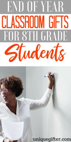 End of Year Classroom Gifts for 8th Grade Students | End of School Gifts for 8th Grade Students | What to buy for End of Year Classroom Gifts for 8th Grade Students | Unique Gifts for 8th Graders for the end of school year | Special presents for end of school year for 8th grade students | #EndOfSchoolGifts #8th grade #giftideas